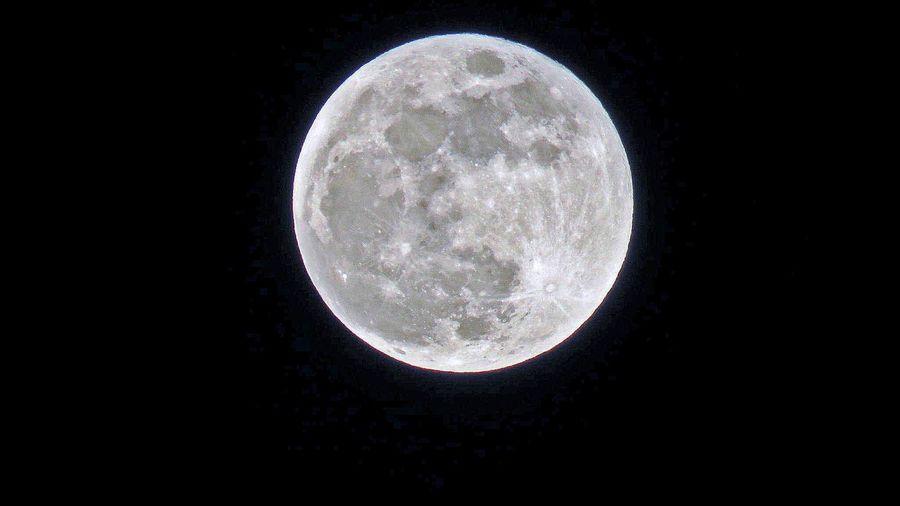 Super blue moon