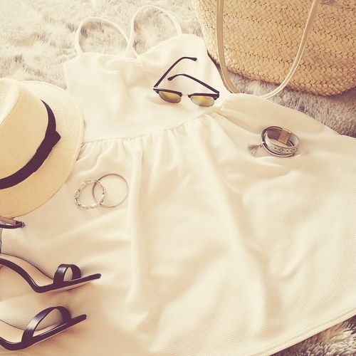 Dress Chapeaudepaille Lunettes 👓 Bracelet Sun ☀ Style Like Relaxing Vacaciones Goodday✌️