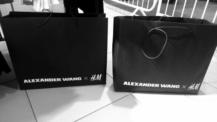 Press preview release of the ALEXANDERWANGxH&M Clothes Fashion Alexanderwangxhm AlexanderWANG