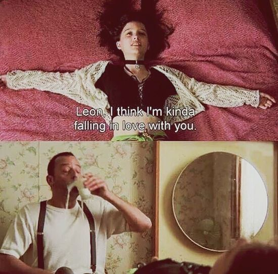 I win Léon .. I win Film Leon The Professional Love Two People 사랑해