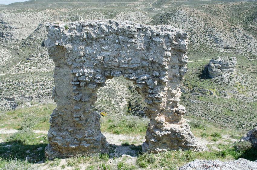 Galacho de Juslibol, Zaragoza, ruinas del Castillo de Miranda. Castle Day Galacho Juslibol Nature Nature No People Outdoors Ruins Zaragoza 2015  Eddl