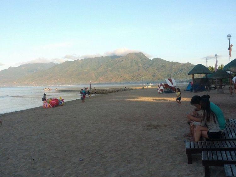 justlovethebeach Beach And Sky Clouds And Sky Love ♥ Mountain Range Naturelovers People Sand Sand & Sea