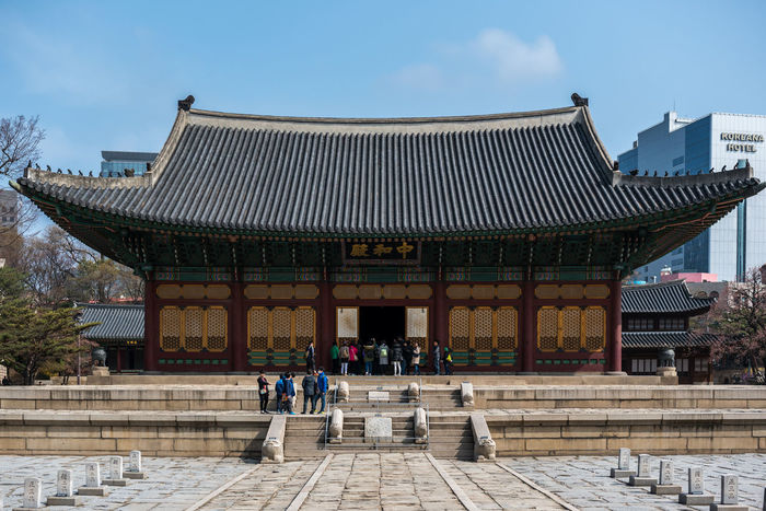 Deoksugung Palace in Seoul Architecture ASIA Colors Culture Deoksu Palace Deoksugung Deoksugung Palace Korean Museum Palace Seoul South Korea South Korea🇰🇷 Traditional Travel