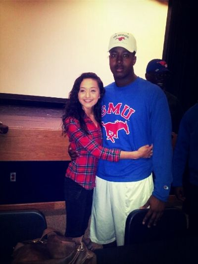 Love My Boy. #SMU #SigningDay