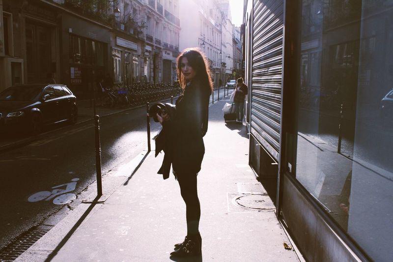 Paris Le Marais Sunshine Sunlight
