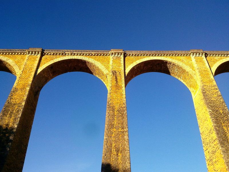 Souillac, the city of seven viaduct... Arch Architectural Column Architecture Bridge Bridge Arch Built Structure Column Engineering History Lot Low Angle View Sncf Souillac Stone Stone Bridge Sunny Train Train Line Viaduct