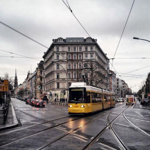 Berlin Prenzlauerberg Tram Straßenbahn