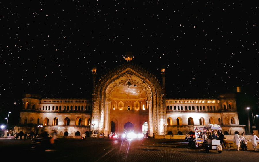 Magnificence of Rumi Darwaza at night. Rumi Gate Lucknow UttarPradesh Stars EyeEm EyeEm Best Shots EyeEm Nature Lover EyeEm Travel Photography Eyeem Travel Eyeemphotography Conposition Composition Night Large Group Of People Architecture Built Structure Blurred Motion Travel Destinations Building Exterior Arts Culture And Entertainment People Outdoors City Illuminated Sky Astronomy EyeEmNewHere