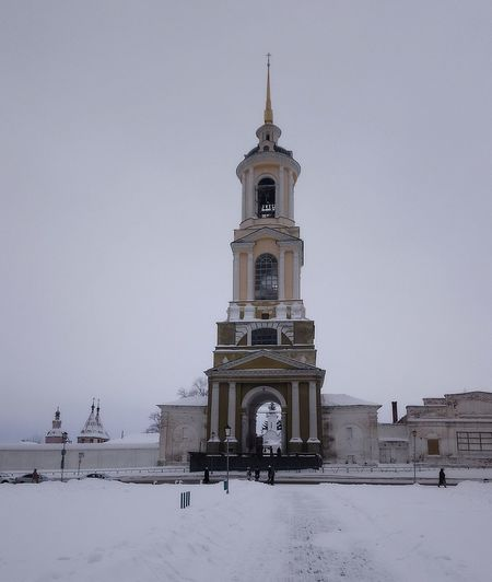 Суздаль. Зима. Колокольня. City Cold Temperature Urban Skyline Snow Politics And Government Winter Place Of Worship Snowing Clock Religion