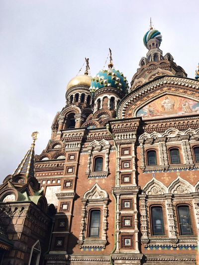 Russia Russian Architecture Architecture_collection Church Church Architecture Savior On The Spilled Blood Savior Church Tower Beautiful