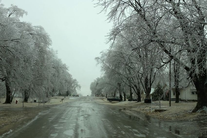 """Visual Journal January 16, 2017 Western, Nebraska - 15 and 16 January 2017 Ice Storm - Over the course of 15 and 16 January 2017, an upper-level storm system tracked from northwest Mexico into the central Plains. A seasonably moist low-level air mass present ahead of the upper-air disturbance surged north through the Great Plains, atop a sub-freezing, near-surface layer of air. The net result was a widespread ice storm which affected locations from the southern High Plains into the mid Missouri River Valley. This winter storm was unusual from the perspective that the predominant precipitation type was freezing rain with little in the way of observed snowfall. Over eastern Nebraska and southwest Iowa, ice accumulations ranged from 0.50-0.75"""" across southeast Nebraska to 0.10-0.20"""" in the Omaha Metro area. Camera Work Cold Temperature Day Extreme Weather EyeEm Best Shots EyeEm Masterclass Frozen Ice Storm Ice Storm 2017 Icicles Icy Day MidWest My Neighborhood No People Outdoors Photo Diary Photo Essay Road Rural America Shootermag_usa Small Town Stories Storytelling Visual Journal Winter Wintertime"""