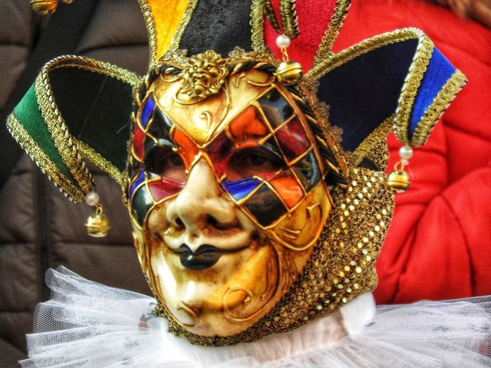 carnevale Carnevale Emiliaromagna Comacchio Lidiferraresi Ferrara Maschere Maschere Carnevales Mask - Disguise Venetian Mask Cultures Gold Colored Tradition Arts Culture And Entertainment Day