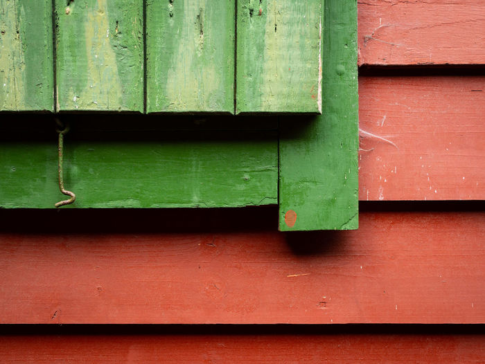 Architecture Backgrounds Built Structure Close-up Day Full Frame Green Green Color No People Outdoors Pattern Wall - Building Feature Window Wood - Material