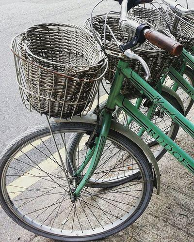 Bicycles Rattan Basket Tiong Bahru Singapore