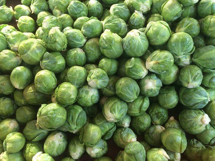 Full Frame Shot Of Brussels Sprout