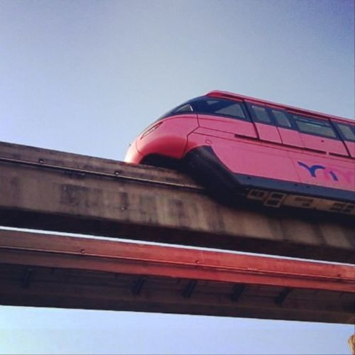 Monorail  Monorailpink Monorailmonday Photography photographer instapic doubletapp followmeplease followyouback