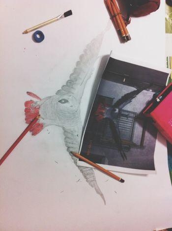 Hmmm Mybird Drawing Me Art
