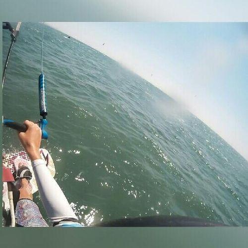 Kitesurf Kitesurfing Kiteboard Kiteboarding North Rrd Summer2015 Missitsomuch Sunshine ☀ Sea Life Is A Beach Ocean Waves Meself Surfboards Surftime Gopro Goprooftheday