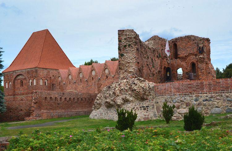 Ruiny Zamku Krzyżackiego w Toruniu. Travel Destinations Architecture History Monument Castel Green Color Torun, Poland NikonD3100 Nikkor 18-105mm