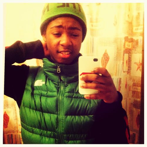 Crispy off the North face!!!