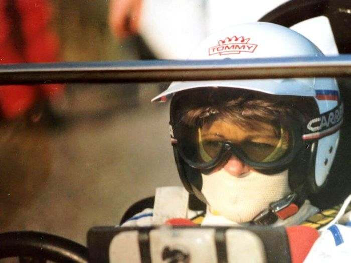 This is a pictire of my grandmother while she is in a race. Yes my grandmother was an classic racecar driver she was also the woman who raised me. She has always been a symble of family home and a great role model... on this saturday it will be one year since she passed. She was only 67 years old and had just 2 years as retierd befor cancer got to her. It is a strange thing to say that she is gone, that such a big part of my life is gone. It still hurts and I am still mad, mad because cancer is never fair, she was healty retired gymnastic teacher, there were never a day when she would just sit still if she could avoid it. She was taken to early and to fast and the healing will take time and I'm not sure I will ever truly heal. I can only hope that there is a heaven and that I someday might see her again. Untill we meet grandma I shall follow your trail Life Is Adventure Explore Discover Pursue Love Family Grandma Rolemodel RaceCardriver How Awsome Is That Untill We Meet Again