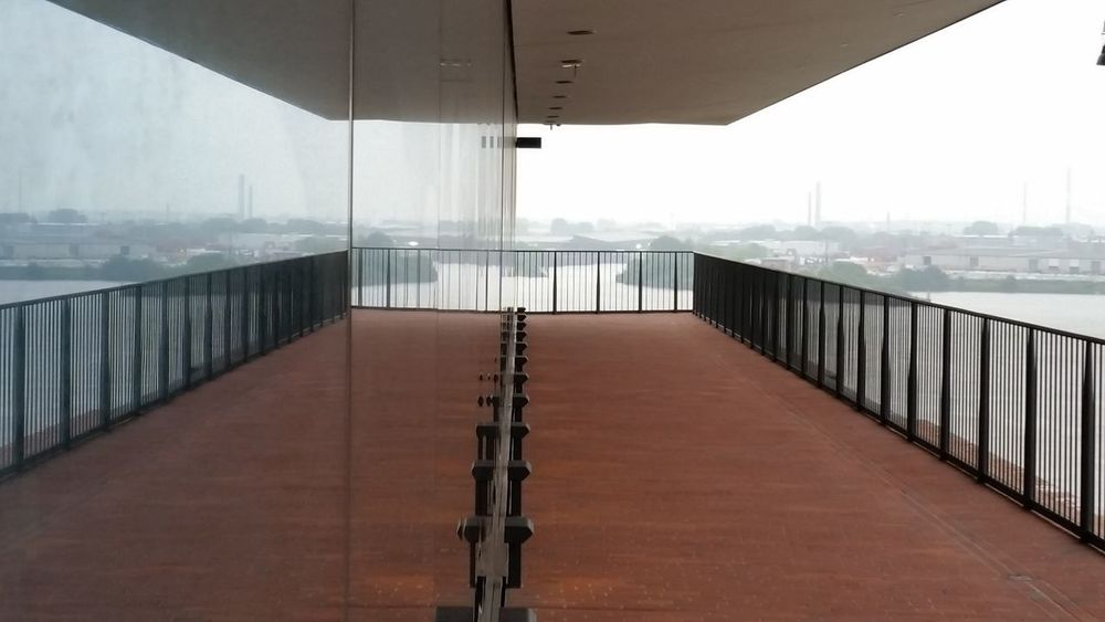 Water No People Built Structure Elbphilharmonie Plaza Elbphilharmony Hamburg Plaza View Hamburg