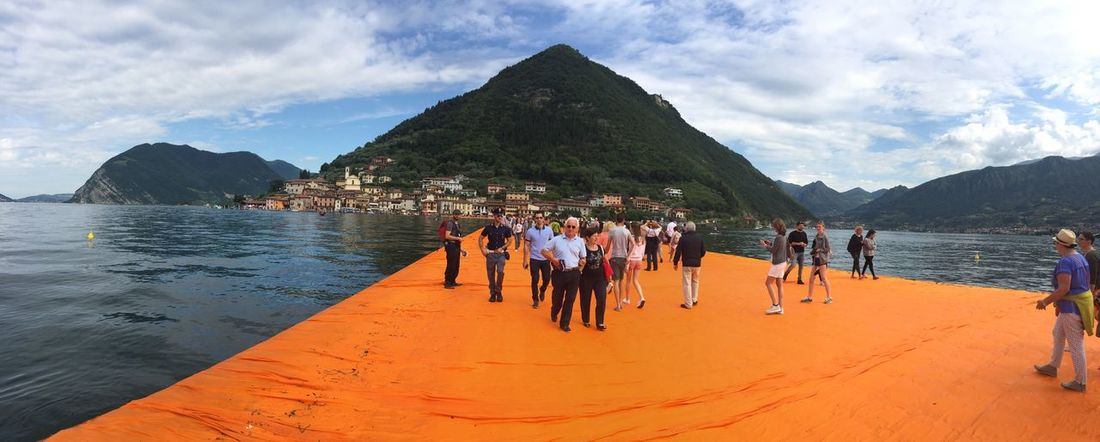 The Floating Piers Original Experiences Taking Photos Enjoying Life Lombardia Lombardy Italy Relaxing Beautiful Relaxing View The Floating Piers By Christo Sulzano Lago Di Iseo Lago D'Iseo Italia Italy❤️ Floating Piers The Floating Piers Thefloatingpiers Taking Photos Check This Out Nice Atmosphere