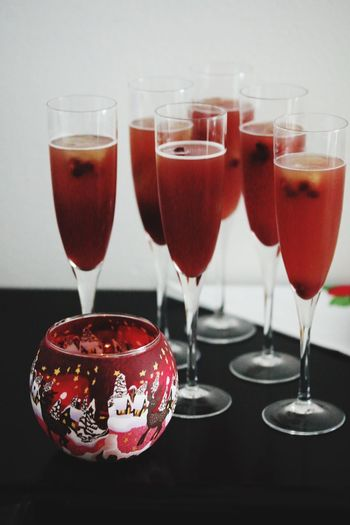 Christmas vibes Drink Drinking Glass Refreshment Food And Drink Wineglass Alcohol Table Champagne Flute Red Celebration Freshness Wine Martini Glass Healthy Eating Shot Glass Champagne Indoors  Cocktail Close-up No People