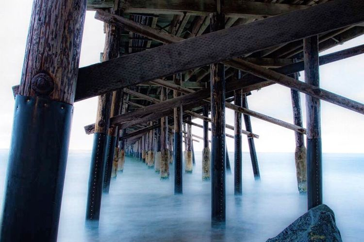 Day Sky Outdoors Connection No People Water Nature Underneath Long Exposure Newport Beach Pentax Beauty In Nature Tranquility Pier Newport Beach, CA, USA Newport Beach Pier Longexposure California Love