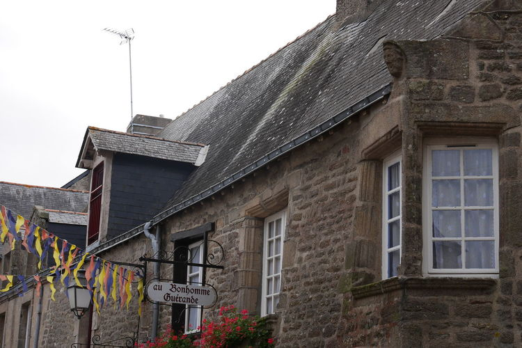 Architectural Detail Architecture Architecture Breizh Bretagne Building Exterior Built Structure Day Guerande History House Low Angle View Outdoors Residential Structure Stone Wall Street Street Photography Streetphotography Window Windows