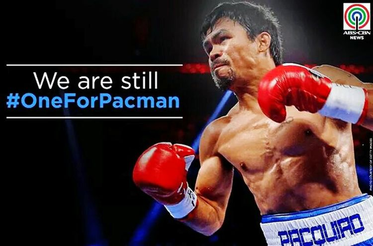 we still proud of you manny😍😋 we know who really wn the fight!👊 DIRTYGAME