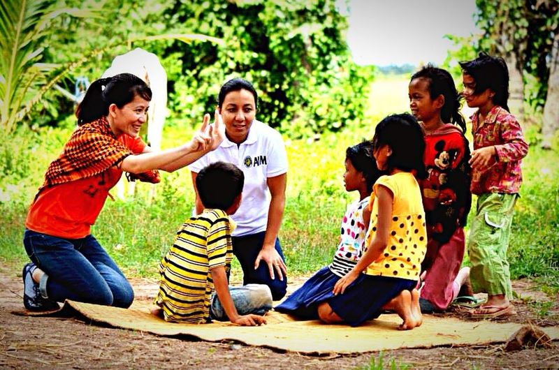 Volunteering Community Development Teaching Children Of The World