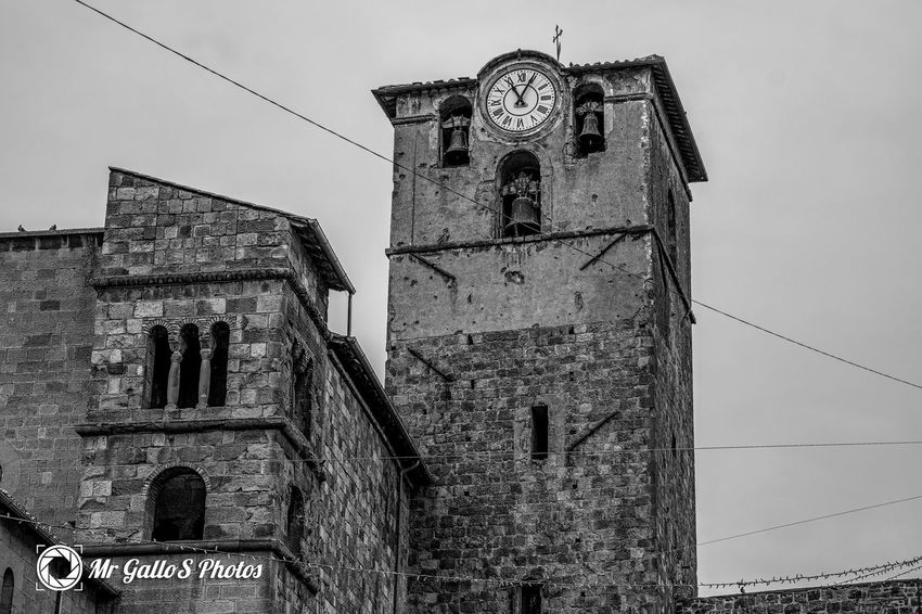 Blackandwhite Civita Di Bagnoregio Italiancity Italy Landscape Outdoors Place Viterbo
