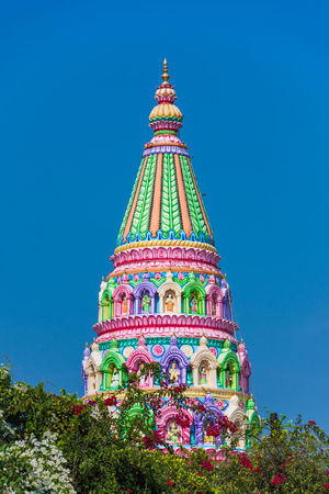 The Great Indian Temple Colourful Freshness Green Color Morning The Great Indian Temple Blue Colour Sky EyeEm Ready