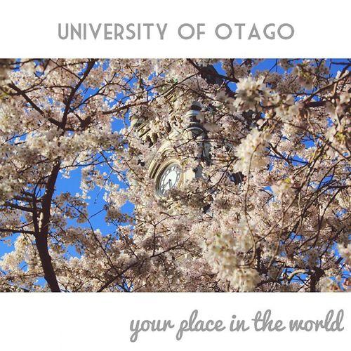 Yourplaceintheworld Otagouni Otago Universityofotago dunedinnz dunnerstunner 2014