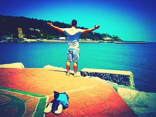 That's Me Spain♥ Hondarribia Irun Coast Besttimeever Holiday Summer ☀ Iwillneverforget Love ♥ Feel The Journey