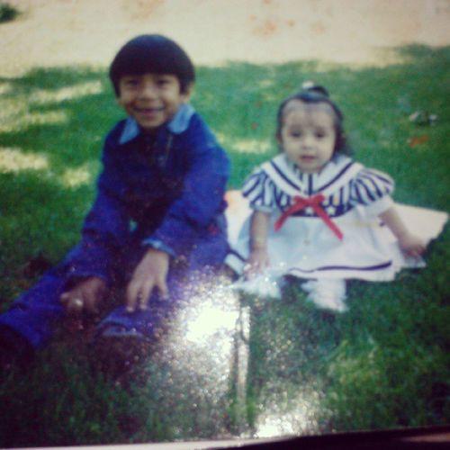 Lol awweee she was cutee! Cousins  Verenice LMAO