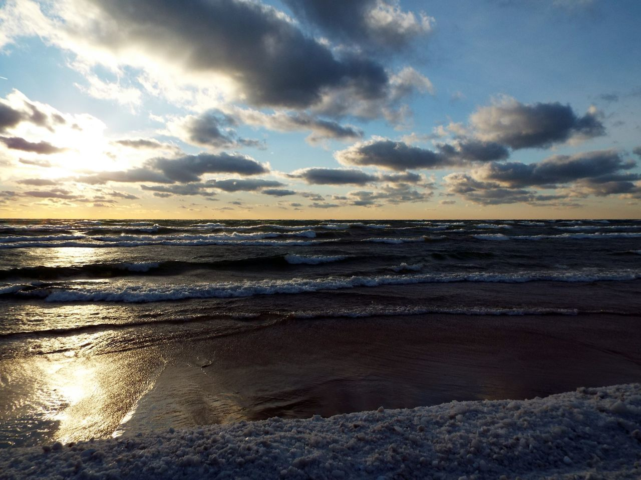sea, water, beach, nature, beauty in nature, sunset, horizon over water, sky, scenics, tranquil scene, shore, tranquility, cloud - sky, idyllic, outdoors, wave, sand, no people, day