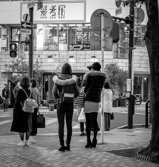 Standing Tall Japan Japanese  Japan Photography Street Streetphoto_bw Streetphotography Fashion Style Urban City People Candid Check This Out Bag Hat Blackandwhite Monochrome Fujixpro2 FujifilmXPro2 Xf35mmf2 Fujiusers Cooljapan