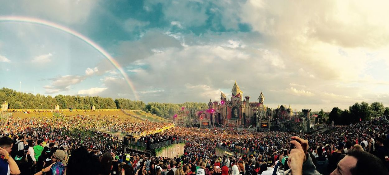 For The Love Of Music Tomorrowland 2015 Rainbow