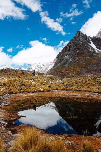 La ruta de las lagunas - Nevado Ausangate, Cusco-Perú Peru Cusco Water Sky Reflection Cloud - Sky Nature Lake Tranquility Beauty In Nature Tranquil Scene Scenics - Nature Mountain Landscape Outdoors