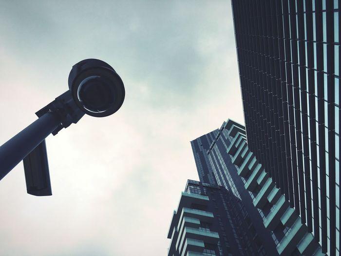 They are watching us. Videosurveillance Camera Cctv Camera Surveillance Surveillance Camera Street Milan Italy Porta Nuova City