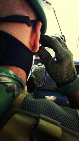 Specialforces Greenbarret Paratroopers Airbourne
