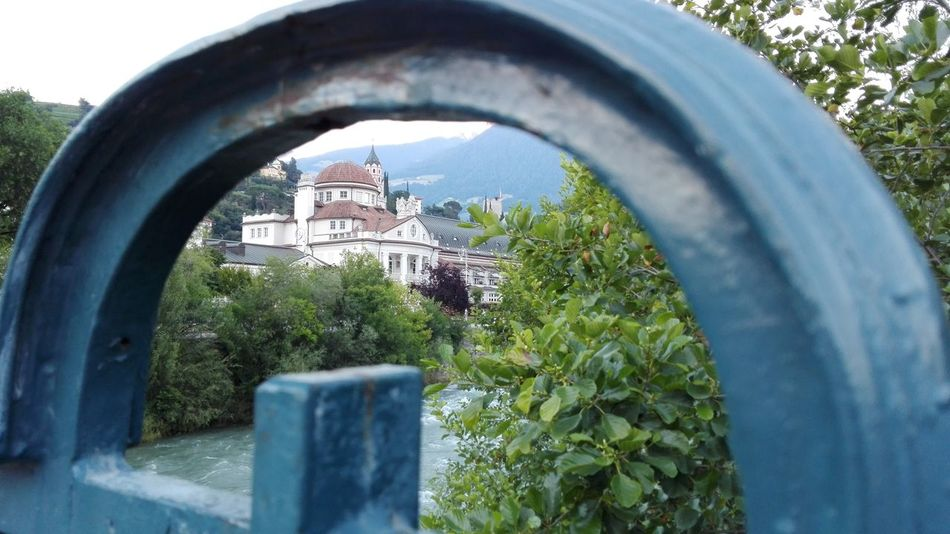 Feel The Journey Meran Sudtirolo Summer 2016 No Edits No Filters Window Looking At Camera Hello World Popular Photos Alto Adige Railing Railing _ Collection Nature River