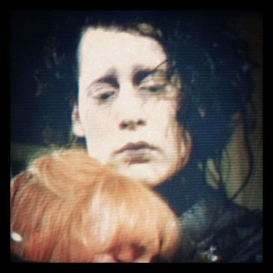Love Edward ScissorHands Tim burton wynona ryder johnny depp love this movie so cute