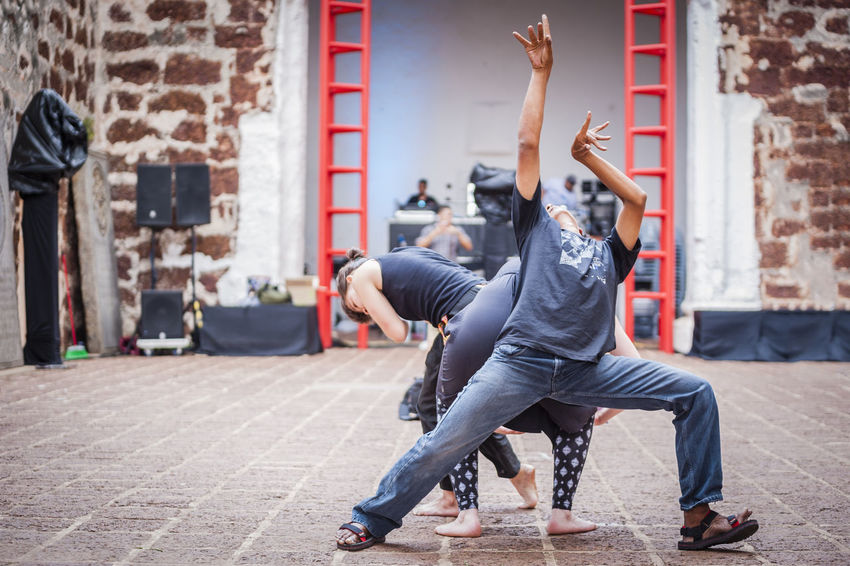 Art Artists Choreographers Choreography Dancers Dancing Emotions Entertainment Expressions Feelings Historical Sites Human Melaka Movements Outdoors People Performers Performing Arts Ruins