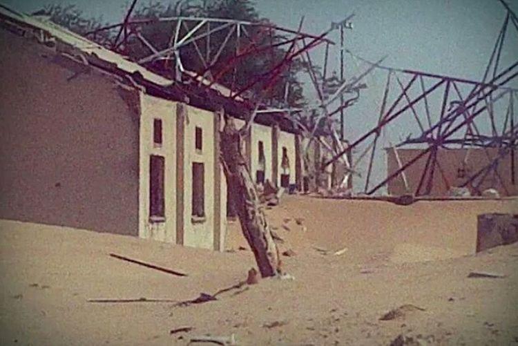 Kuwait Koweit War Ruins After War Wars Afterwar Landscape Afterwars