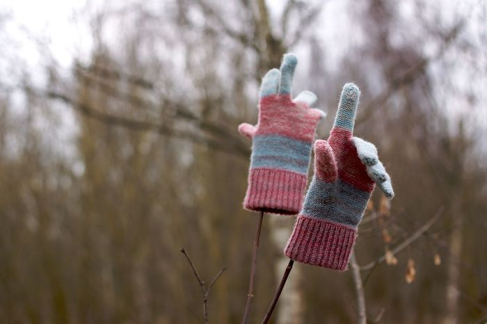 Lost and found. Along The Way Lost And Found Winter Gloves In The Woods Knitwear Take Away Winter_collection