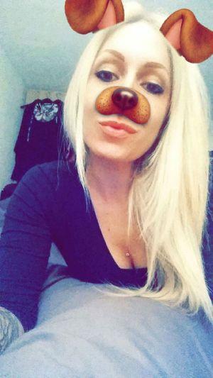 Hello snap 😊🐶 Funny Faces Dogface INKEDGIRL Snapchat Pierced Girl Cherrypopy Blondiegirl