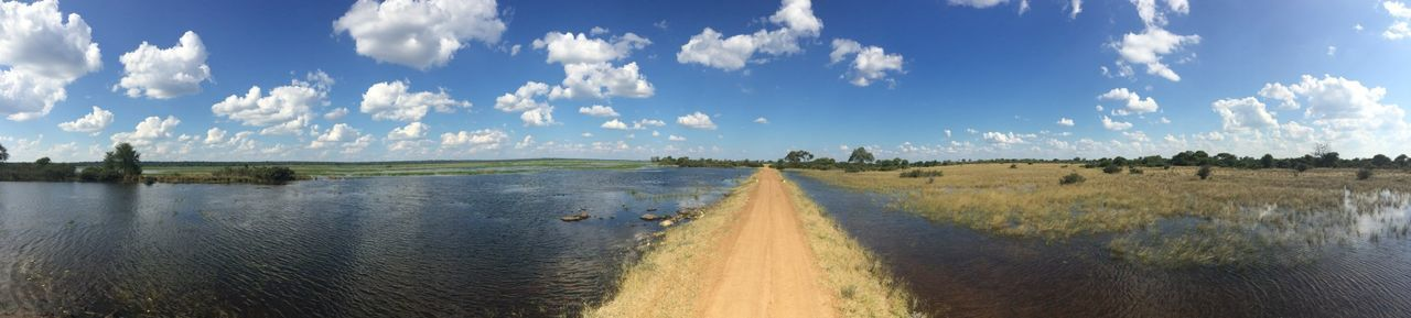 Game Drive Great Views Okavango River Nambw2014